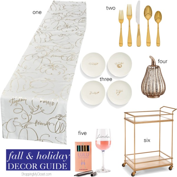 Fall & holiday decor | see all the picks at www.shoppingmycloset.com
