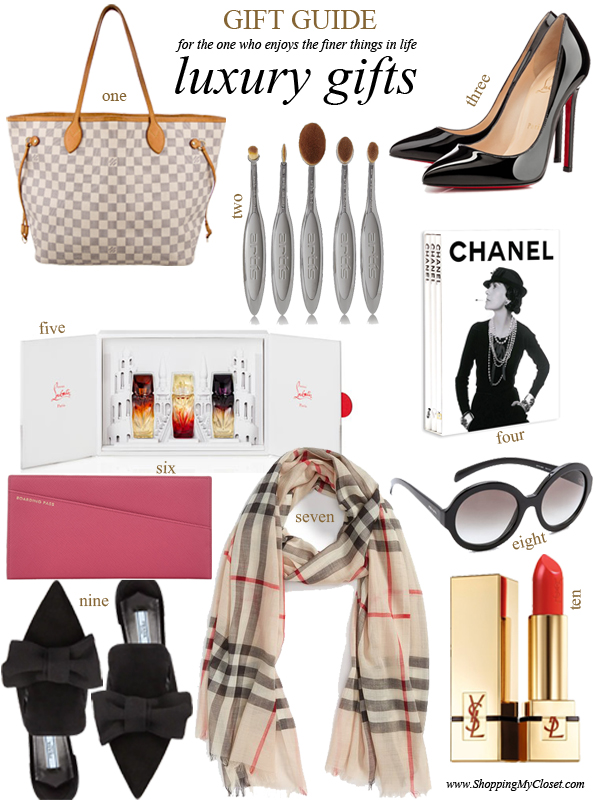 Holiday gift guide: luxury gifts (for the one who enjoys the finer things in life) | see all the picks at www.shoppingmycloset.com