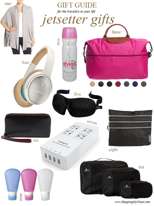 Gift guide: jetsetter | see all the picks at www.shoppingmycloset.com