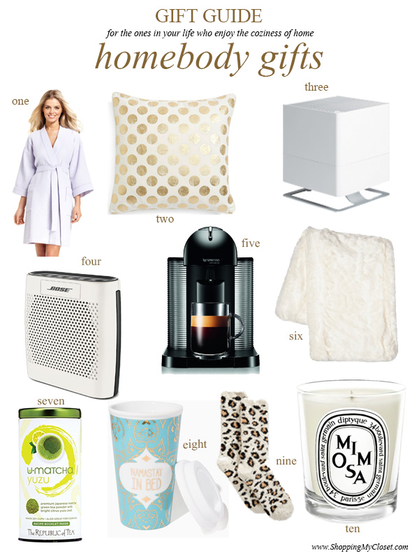 Gift guide: cozy homebody | see all the picks at www.shoppingmycloset.com