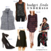 December 2016 monthly budget finds | see all the finds at www.shoppingmycloset.com