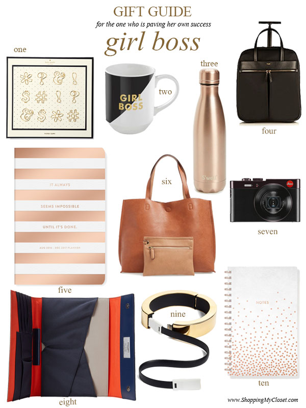 2016 holiday gift guide: girl boss #girlboss | see all the picks at www.shoppingmycloset.com
