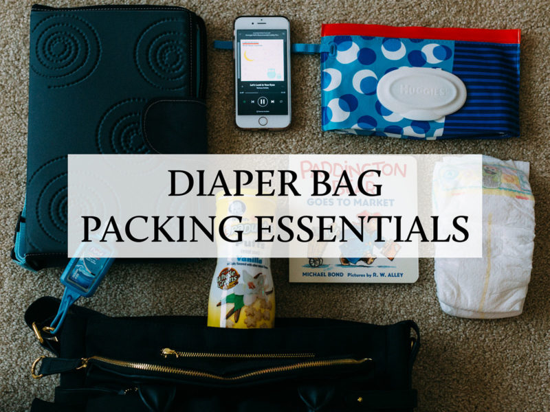 Diaper bag packing essentials | www.shoppingmycloset.com