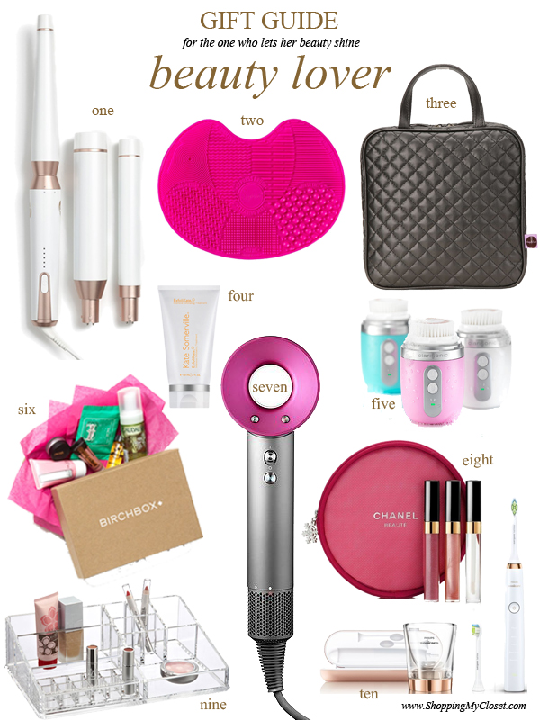 2016 holiday gift guide: beauty lover | see all the picks at www.shoppingmycloset.com