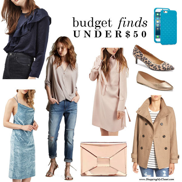 January 2017 monthly budget finds | see all the finds at www.shoppingmycloset.com