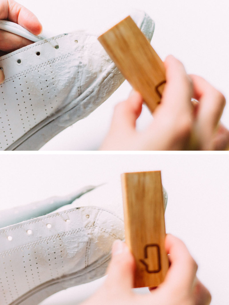 How to care and clean for your white sneakers | www.shoppingmycloset.com