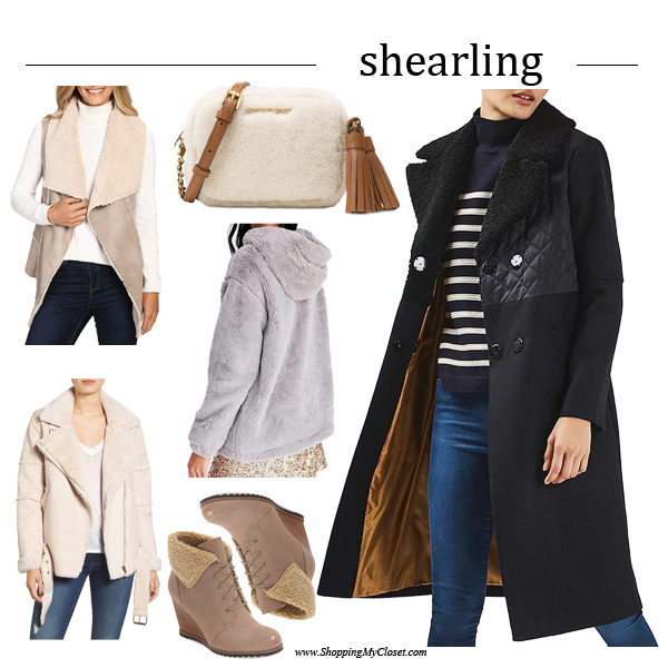 Style: shearling | see all the picks at www.shoppingmycloset.com