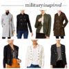 Style: military-inspired coats & blazers | see all the looks at www.shoppingmycloset.com