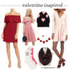 Style: Valentine's day inspired (red & pink!) | www.shoppingmycloset.com
