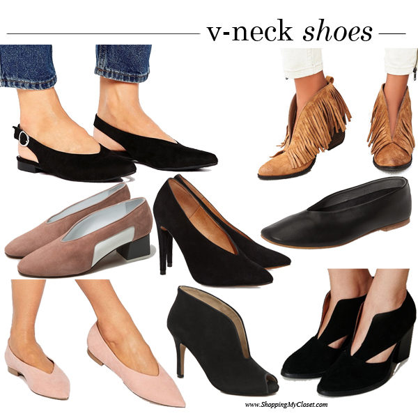 Style: v-neck shoes | see all the picks at www.shoppingmycloset.com