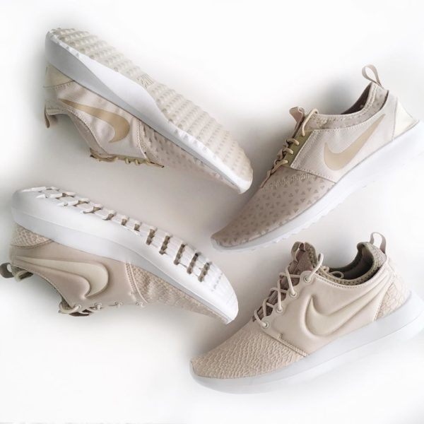 Oatmeal / neutral Nike | see the look at www.shoppingmycloset.com