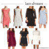 Style; lace dress for spring | see all the picks at www.shoppingmycloset.com