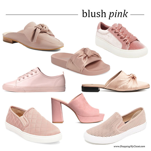 Style: blush pink shoes | see all the picks at www.shoppingmycloset.com