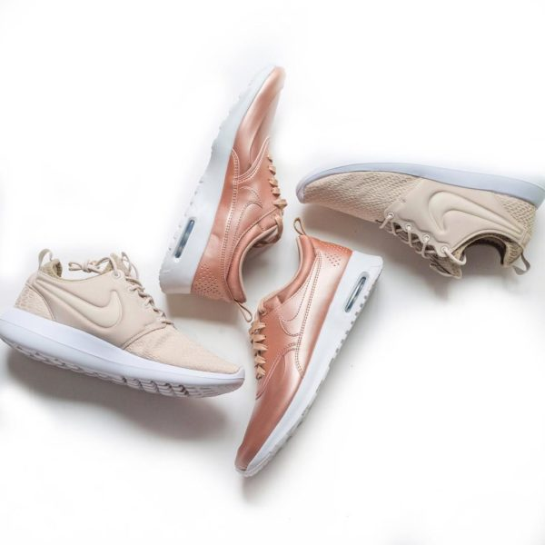 Pink sneakers | neutral sneakers | www.shoppingmycloset.com