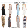 Summer maxi dresses under $50 | see all the picks at www.shoppingmycloset.com