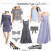 Summer gingham picks | www.shoppingmycloset.com