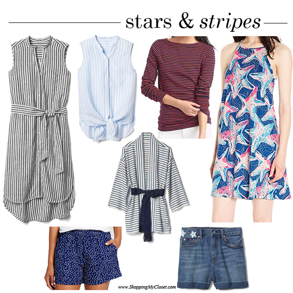 Stars & stripes | see all the inspired picks at www.shoppingmycloset.com