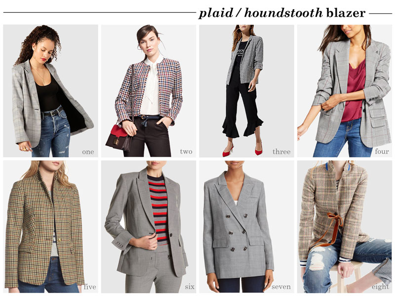 Style: plaid / houndstooth blazers (borrowed from the boys) | www.shoppingmycloset.com