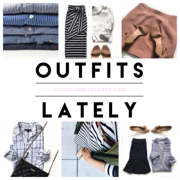 Outfits lately | see all the looks at www.shoppingmycloset.com