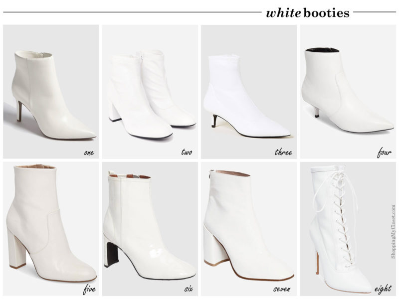 Style: white boots | see all the picks at www.shoppingmycloset.com