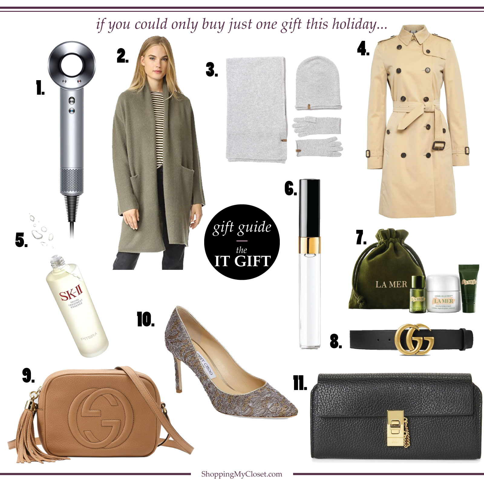 Gift guide: the big gift this holiday season | www.shoppingmycloset.com