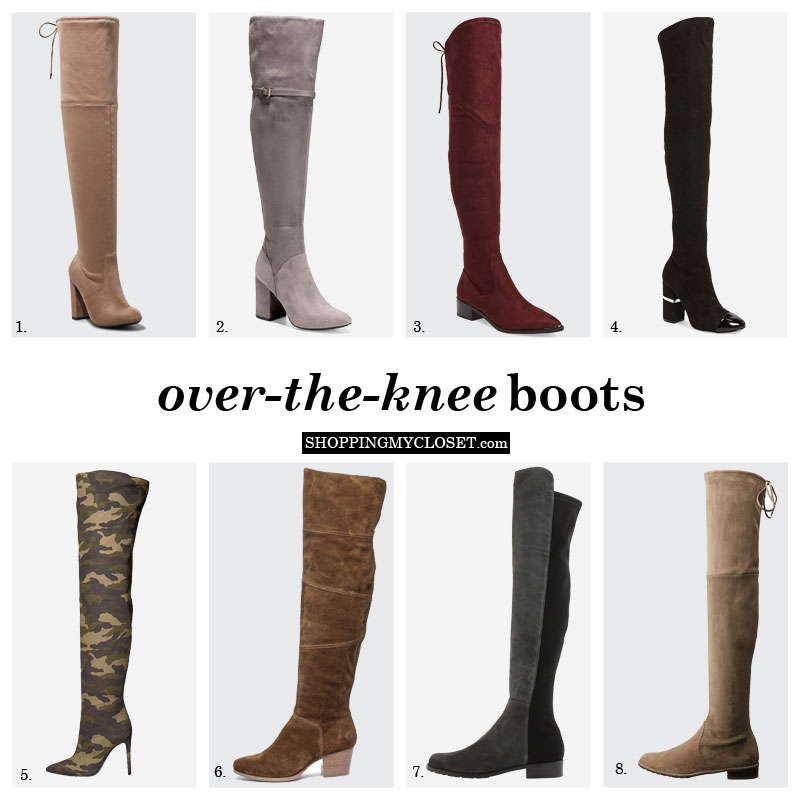 How to pick over the knee (OTK) boots | see the picks (all budgets) on www.shoppingmycloset.com