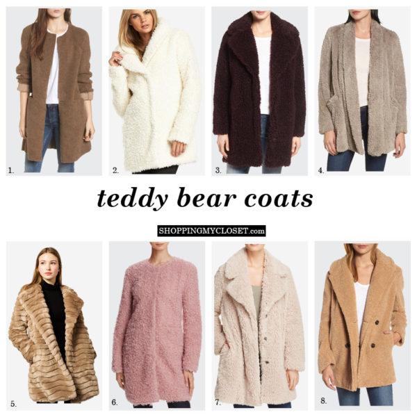 Teddy bear coats | see all the picks at www.shoppingmycloset.com