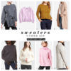 Sweaters under $50 | see all the picks at www.shoppingmycloset.com