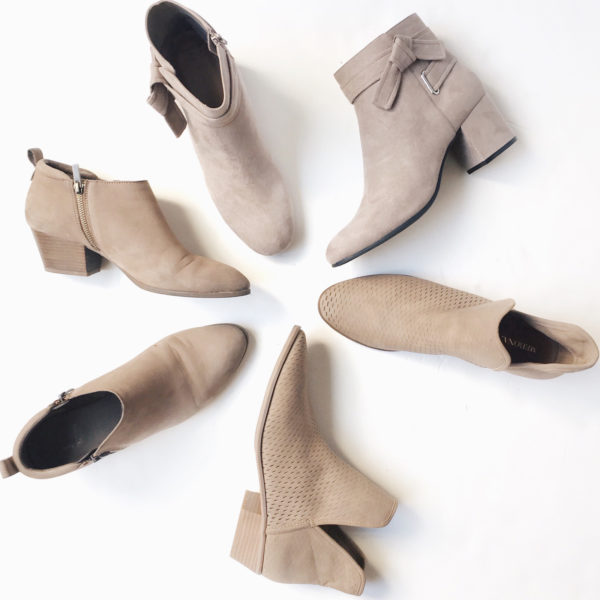 Ankle boots | www.shoppingmycloset.com