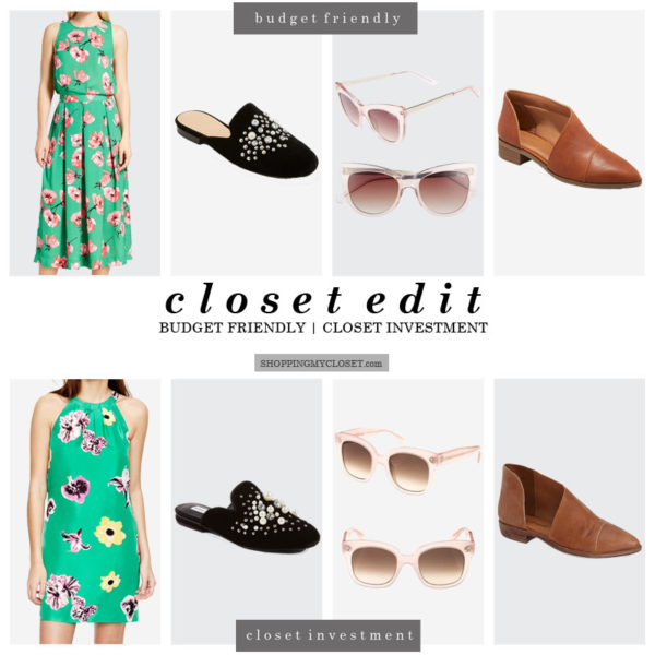 Closet edit (budget friendly + closet investments) | details at www.shoppingmycloset.com