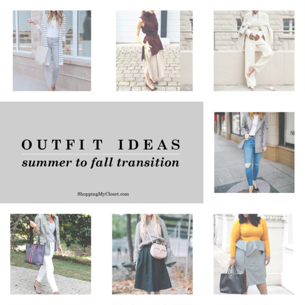 Outfit ideas: summer to fall transition | SHOPPINGMYCLOSET com