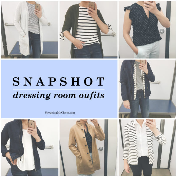 Snapshot  dressing room outfits  Old Navy   75d7fe7eb